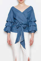 Do & Be Bubble Sleeve Top