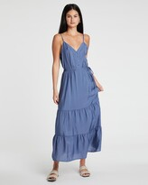Thumbnail for your product : Only Women's Blue Midi Dresses - Sky Midi Strap Dress - Size One Size, M at The Iconic