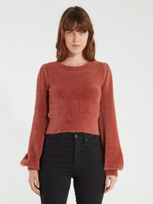 ASTR the Label Sorbet Puff Sleeve Sweater