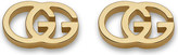 Gucci GG 18ct yellow-gold tissue stud earrings