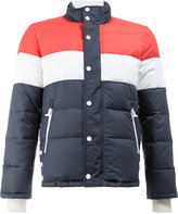 Thom Browne Three Panel Downfilled Funnel Collar Ski Jacket In Mini Ripstop