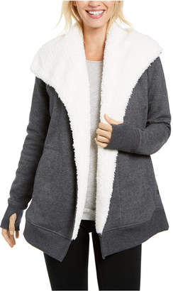 Ideology Sherpa Fleece-Lined Wrap
