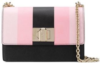 Furla Striped Shoulder Bag