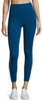Beyond Yoga Ommmbre Mesh High-Waist Legging, Blue