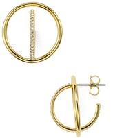 Nadri Sunset Double Hoop Earrings