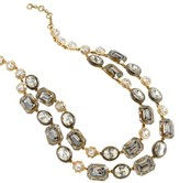 J.Crew Women's Double Strand Stone Necklace