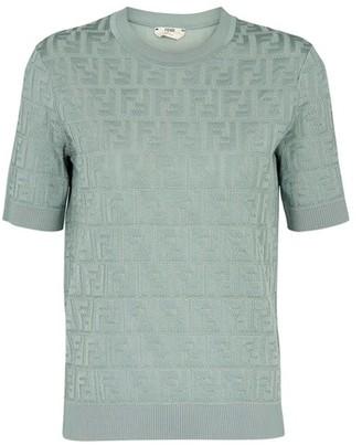Fendi Pullover FF short sleeves