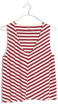 Madewell Women's Chevron Stripe Swing Tank