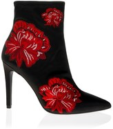 Jessica Simpson Embroidered Stiletto Ankle Boots