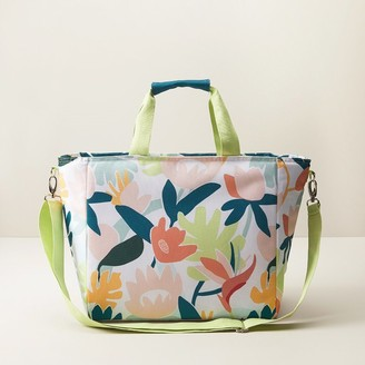 Indigo Insulated Cooler Bag Tropical