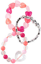 Osh Kosh 3-Pack Beaded Heart Bracelets