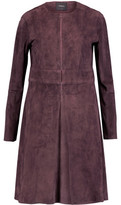 Theory Alvington Suede Coat