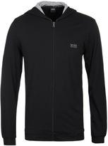 Boss Black Jersey Zip Through Hooded Sweatshirt