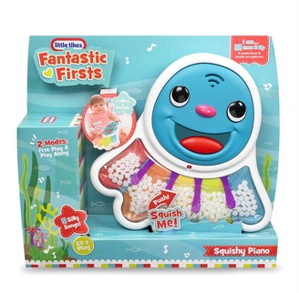 Little Tikes Fantastic Firsts Sensory Toy Squishy Piano with 5 Silly Songs