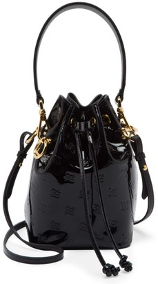 Fendi Mini Mon Tresor Patent Leather Bucket Bag