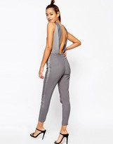 Asos Jumpsuit with Twisted Knot Detail