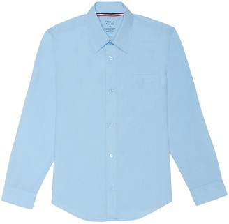 French Toast Boys 4-20 & Husky Long Sleeve Button-Down Dress Shirt