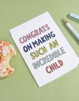 Veronica Dearly Congrats Card