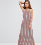 Asos 90s Maxi Dress In Print