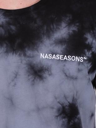 Nasaseasons Midnight Dye T-shirt Black