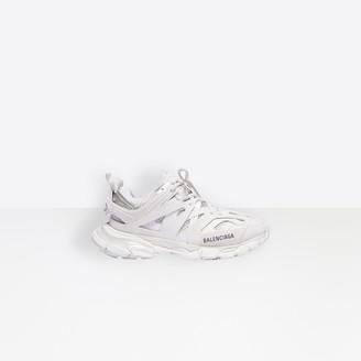 Balenciaga Track in white mesh and nylon