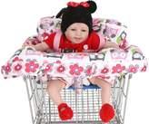 Anself Carpet Protective Shopping Cart Baby, Folding and Portable Baby Cart Protective Carpet