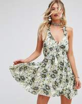 Free People Washed Ashore Printed Dress