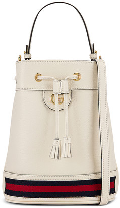 Gucci Ophidia Bucket Bag in Mystic White | FWRD