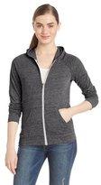 Alternative Women's Eco-Jersey Relay Raglan Zip-Front Hoodie Jacket