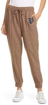 Polo Ralph Lauren Herringbone Wool Blend Jogger Pants