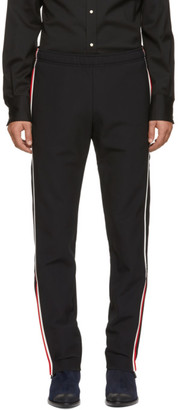 MONCLER GRENOBLE Black Polaire Technique Windstopper Lounge Pants