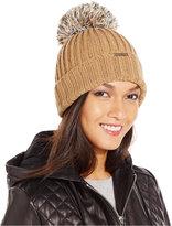 MICHAEL Michael Kors Pom Pom Cuff Hat