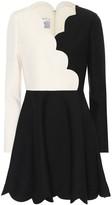 Valentino Silk and wool minidress