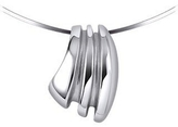 Masini Manhattan - Sterling Silver Drop Pendant