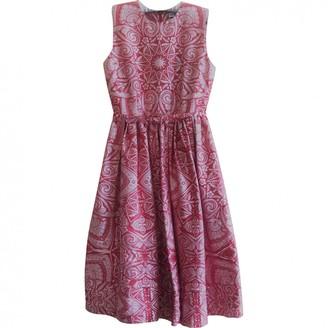 Jonathan Saunders \N Pink Silk Dresses