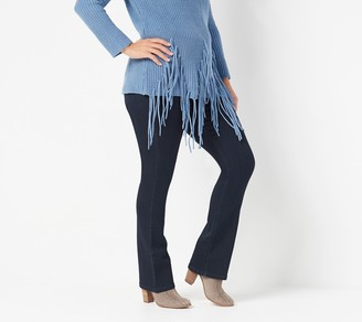 Laurie Felt Silky Denim Petite Pull-On Baby-Bell Jeans