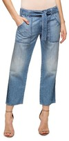 Sanctuary Women's Karate Belted Crop Jeans