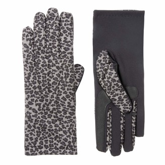 Isotoner Womens Spandex Cold Weather Stretch Gloves with Warm Fleece Lining