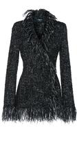 Paule Ka Tweed Fringe Jacket