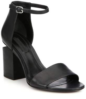 Alexander Wang Abby Ankle-Strap Leather Sandals