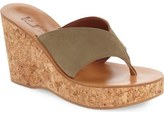 K Jacques St Tropez K.Jacques St. Tropez 'Sayuri' Wedge Sandal (Women)
