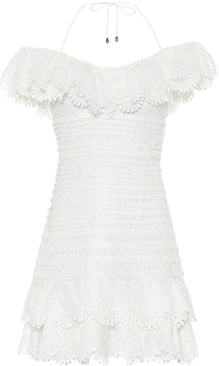 Zimmermann Super Eight linen-blend minidress