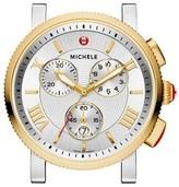 Michele Women's 'Sport Sail - Large' Black Dial Watch Case, 42Mm