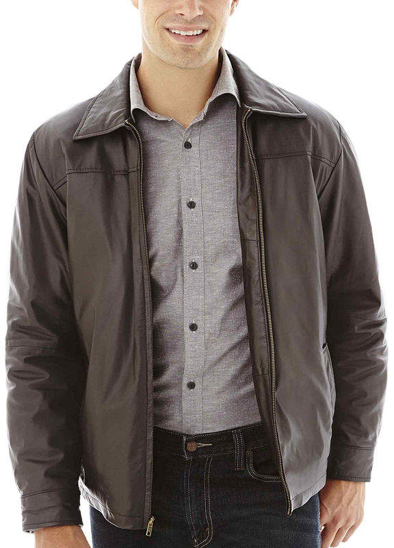 JCPenney Excelled Leather Excelled New Zealand Lambskin Jacket