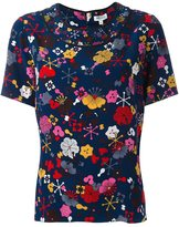 Kenzo 'Tanami' print top - women - Silk - 36