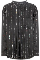 Isabel Marant Gemma Printed Silk Shirt