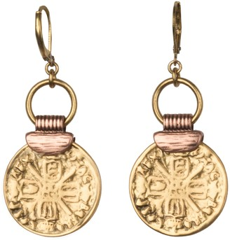 Linea by Louis Dell'Olio Gypsy Coin DropEarrings