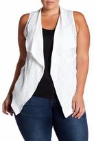 Democracy Textured Vest (Plus Size)