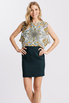 Karen Zambos Honey Bohemian Print Izzy Dress