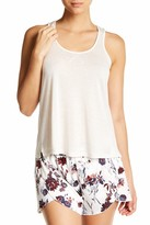 Shimera Satin Trim Knit Tank